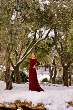 Evening gowns and dresses with sleeves | Shop Mode-sty for stylish modest clothing #nolayering