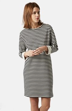 Topshop+Stripe+Sweater+Dress+available+at+#Nordstrom