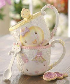 Sweet Tales Mug & Spoon Set