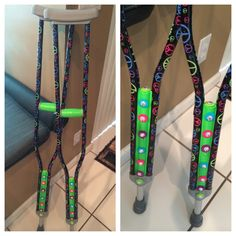 my daughters quotblinged outquot crutches to use after knee