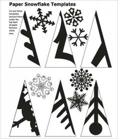 DIY Papier Diy paper snowflakes pattern snowflake 59 ideas Using A Room Humidifier For Health Aspect Paper Snowflake Template, Paper Snowflake Patterns, Paper Snowflakes, Christmas Snowflakes, Christmas Fun, Snowflake Craft, Snowflake Cutouts, Origami Christmas, Cut Out Snowflakes