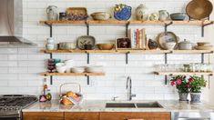 Image result for shelves kitchen
