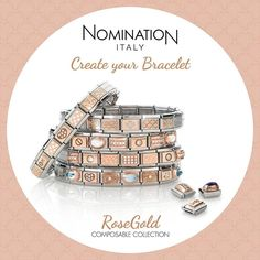Nomination Rose Gold Charms - www.graceandcojewellery.co.uk/blog/nomination-rose-gold