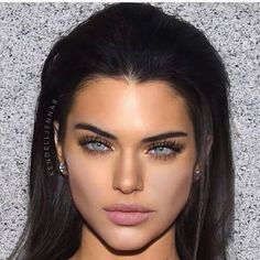this is a photoshopped face of a mix of Kendall Jenner, Megan Fox and Angelina Jolie, why can't this be me