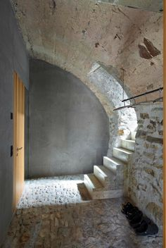 Conversion Of A Stone House In Scaiano