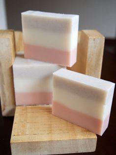 natural soap, beautiful stripes