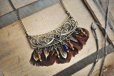 Brass Necklace by twistedjewelry.deviantart.com on @DeviantArt