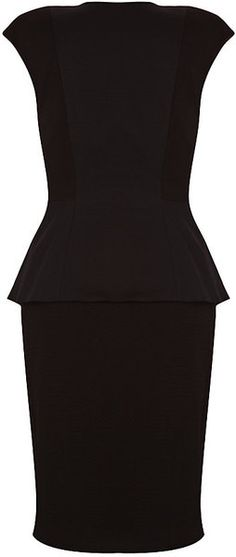Ted Baker London Structured Dress - Lyst