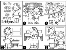 Bilingual resources on pinterest dual language spanish for Ruby bridges coloring pages