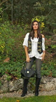 How to customize a vest from H & M | Fashion Crimes in stylelovely.com