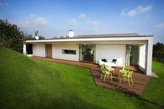 [전원주택] 잔디밭 위, 이런 단층의 전원주택은 어떨런지? : 네이버 블로그