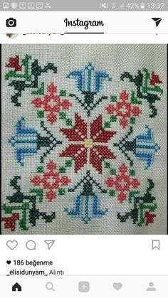 Discover thousands of images about Engul Just Cross Stitch, Cross Stitch Borders, Cross Stitch Flowers, Cross Stitch Designs, Cross Stitching, Cross Stitch Embroidery, Hand Embroidery, Cross Stitch Patterns, Embroidery Designs