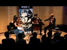 Beethoven String Quartet No. 1 in F Major,  Op. 18, No. 1 - Afiara String Quartet (Live)  Muß es sein?