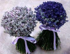 Addobbi floreali, per chiesa e location e bouquet con lavanda