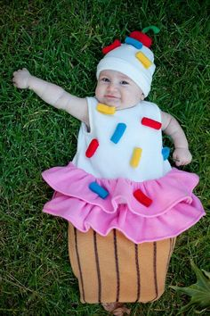 A handmade costume for the little sweetie pie that you always just want to gobble right up. #etsykids