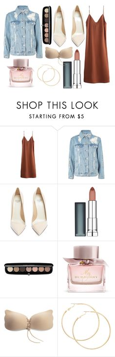 """""""Sans titre #343"""" by nas-ghaida on Polyvore featuring mode, Topshop, Francesco Russo, Maybelline, Marc Jacobs et Burberry"""