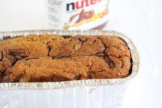 Banana Nutella Swirl Bread | Kirbie's Cravings | A San Diego food blog