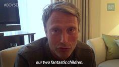 'Doctor Strange' Star Mads Mikkelsen Shows His Big Softy Side For 'Building Modern Men' | Huffington Post