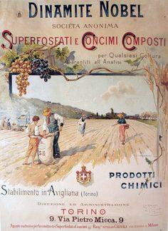 Nobel fertilizers, Turin, 1896