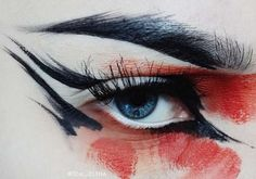 Delineated, smoky, colors, shapes and techniques to make up your eyes every time We propose ten eye makeup looks for different tastes and. Eye Makeup, Beauty Makeup, Makeup Stuff, The Wicked The Divine, Make Up Inspiration, Make Up Art, Fantasy Makeup, Tips Belleza, Costume Makeup