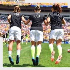 New Kids' pitch jump - WWC 2015 warm up- NEW KIDS PITCH JUMP, MISSING IT. Has anyone see Tobin do it in 2016?