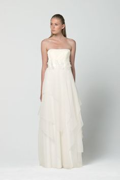Experience Max Mara: shop the official online store and discover the latest collections, news and events. Girls Dresses, Flower Girl Dresses, Formal Dresses, Wedding Dresses, Max Mara Bridal, Bridal Style, Mother Of The Bride, Perfect Wedding, Bridal Gowns