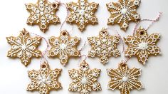 How To Decorate Snowflake Cookies!