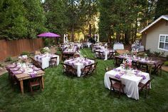 Decorating backyard wedding casual backyard wedding decoration party backyard ideas is suitable for low budget party with luxurious decorating in a calm place landscaping green garden best for modern party implements junglespirit Image collections