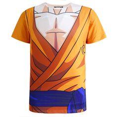 Son Goku Whis Gi Skin Gear Armour Armour Cosplay T-Shirt