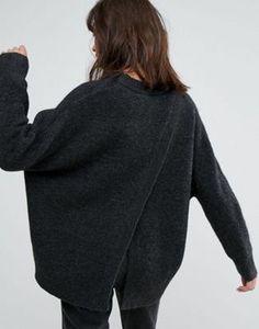 Weekday Open Back Knit Jumper