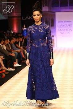 Anita Dongre designer collection... I see pants. Love this look. Change the color & add embellishments that fit your wedding theme. Ask your dressmaker for suggestions to achieve this look.