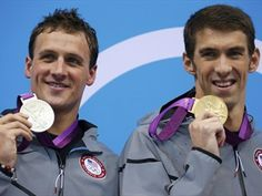 Michael Phelps and Ryan Lochte