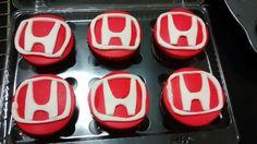 Honda cupcakes