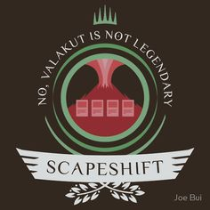 Magic the Gathering - Scapeshift Life V2 #mtg #shirt #design #humor #funny #witty #redbubble #magicthegathering #epicupgrades #magic #scapeshift #valakut #modern