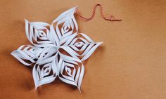How to make a paper Christmas star
