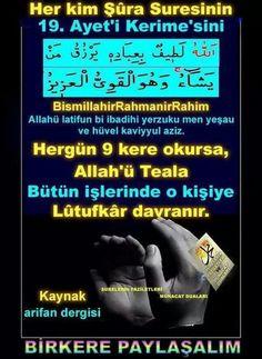 Butun islerinde Allah on kisiye lutufkar davranir. Religion, Allah God, Cool Words, Quotations, Prayers, Faith, Messages, Life, Hijabs