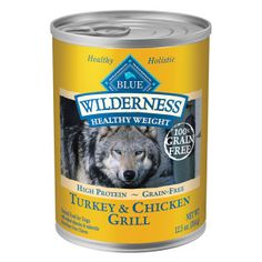 BLUE Wilderness® Grain Free Turkey & Chicken Healthy Weight Adult Dog Food | Canned Food | PetSmart