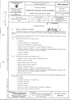 STAS 6400-84 - Lucrari de drumuri - [PDF Document] Document, Bullet Journal