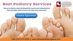 Leading Foot Surgeon in Lake Charles