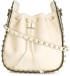 Valentino Garavani Rockstud bucket shoulder bag https://api.shopstyle.com/action/apiVisitRetailer?id=618674218&pid=uid2500-37484350-28