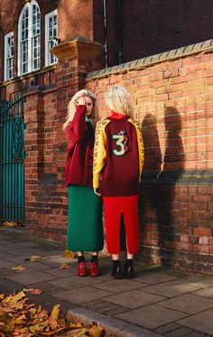 Double up with oversized knitwear on doubled up twins over on Farfetch.com