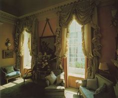 Bruce family London drawing room by John Fowler