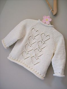 Baby Knitting Patterns Ravelry Ravelry: Project Gallery for Cupid pattern by Melissa Schaschwary Knitting For Kids, Baby Knitting Patterns, Baby Patterns, Hand Knitting, Knitting Ideas, Knitting Stitches, Knitting Projects, Knit Baby Sweaters, Knitted Baby Clothes