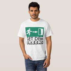 #flower - #GET DEM(Those) GReens(humor) by ckhanson81 T-Shirt