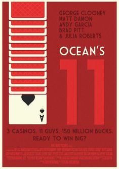 Ocean's Eleven Poster by W0op-W0op.deviantart.com on @deviantART