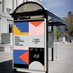Design Poster Festival Visual Identity 46 Ideas For 2019 Web Design, Layout Design, City Branding, Branding Design, Branding Ideas, Typography Poster, Typography Design, Flyer Poster, Film Festival Poster