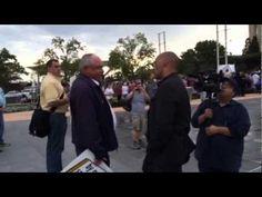 EXCLUSIVE Footage: Satanic Black Mass Protests- Oklahoma City 9/21/2014