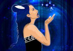 Matariki - the face of godgoddess. In some Maori traditions the star cluster of Pleides is called Matariki, the seven sisters. Polynesian People, Polynesian Art, Nordic Aliens, Maori Legends, Soul Collage, Maori People, Maori Designs, New Zealand Art, Nz Art