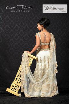 Wedding Lengha - see more inspiration @ http://www.ModernRani.com