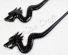 Dragon Engrave  Hair Stick Handmade From Genuine by KimSonCraft, $7.99